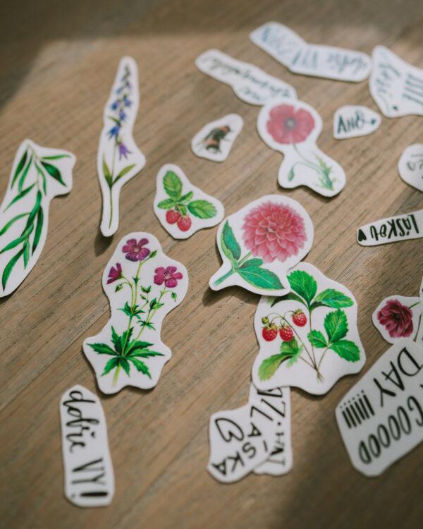 květinové tetovačky