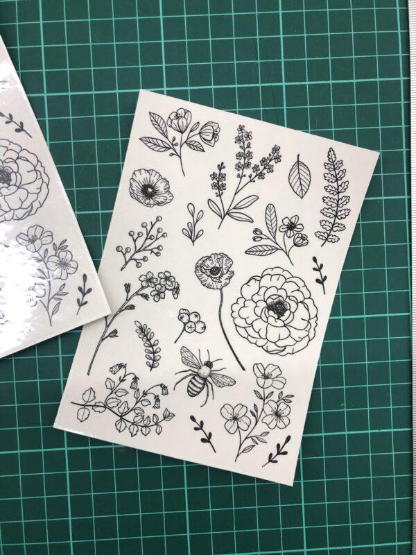 kvetinove docasne tetovani
